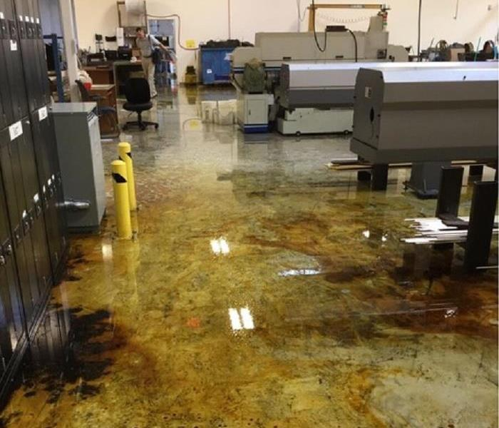 Oil Spill Cleanup Before