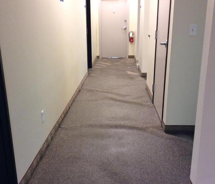 Water Damage in a Commercial Building