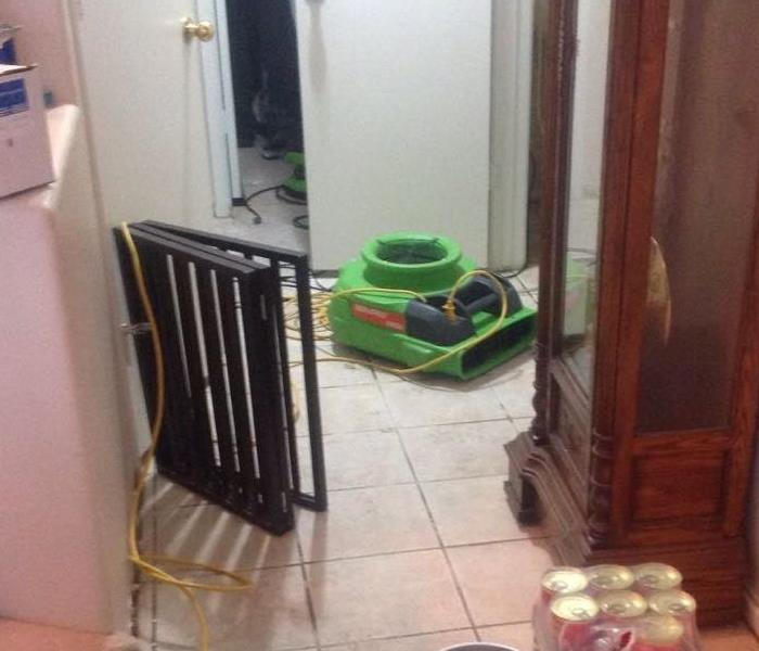 Water Damage What is the fastest way to clean up water in Vegas home?