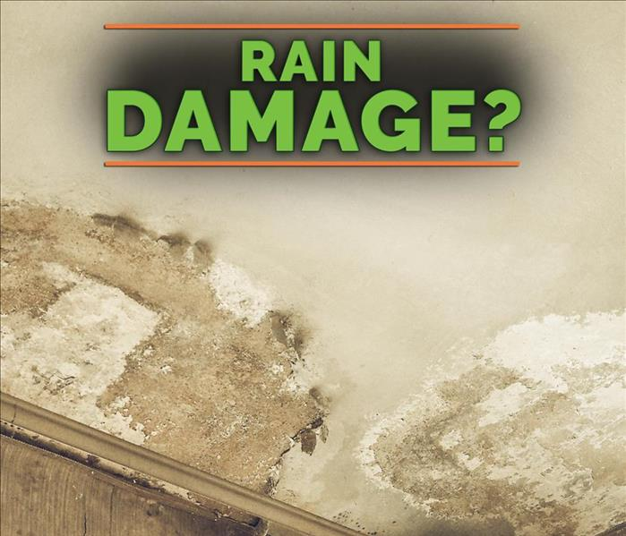 Rain Damage? - Image of damaged ceiling